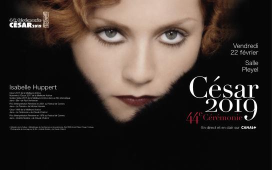 Affiche officielle de la cérémonie des César 2019 (academie-cinema.org)