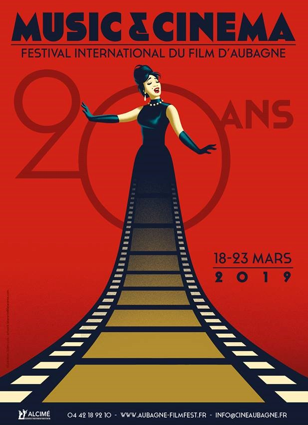 Affiche 20 ans ©Festival International du Film d'Aubagne