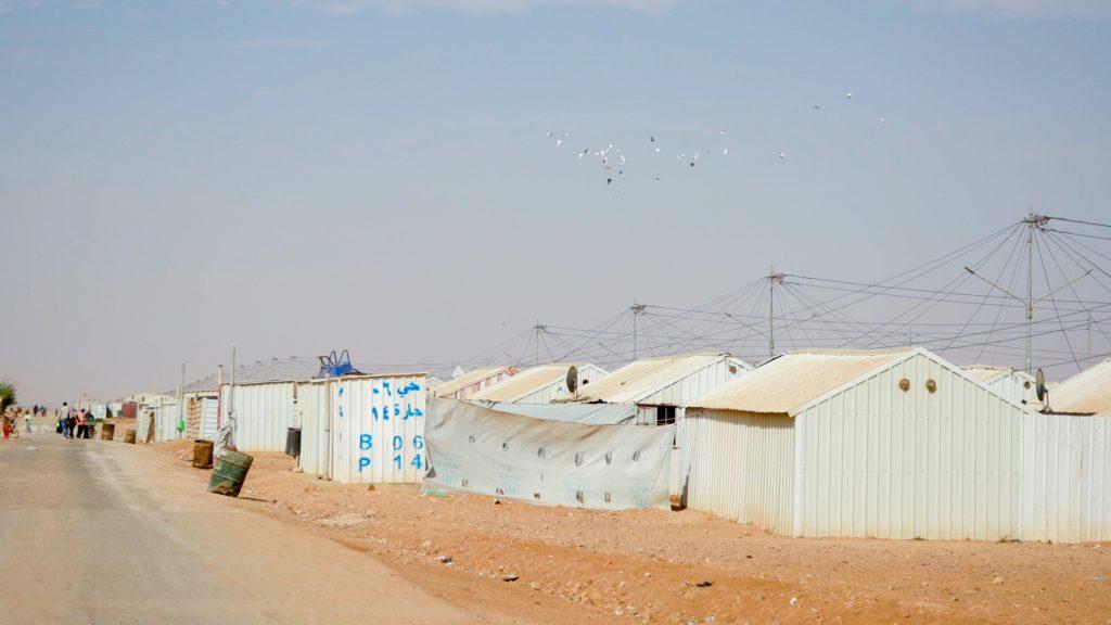 Un camp de réfugiés - ©Florent Aceto