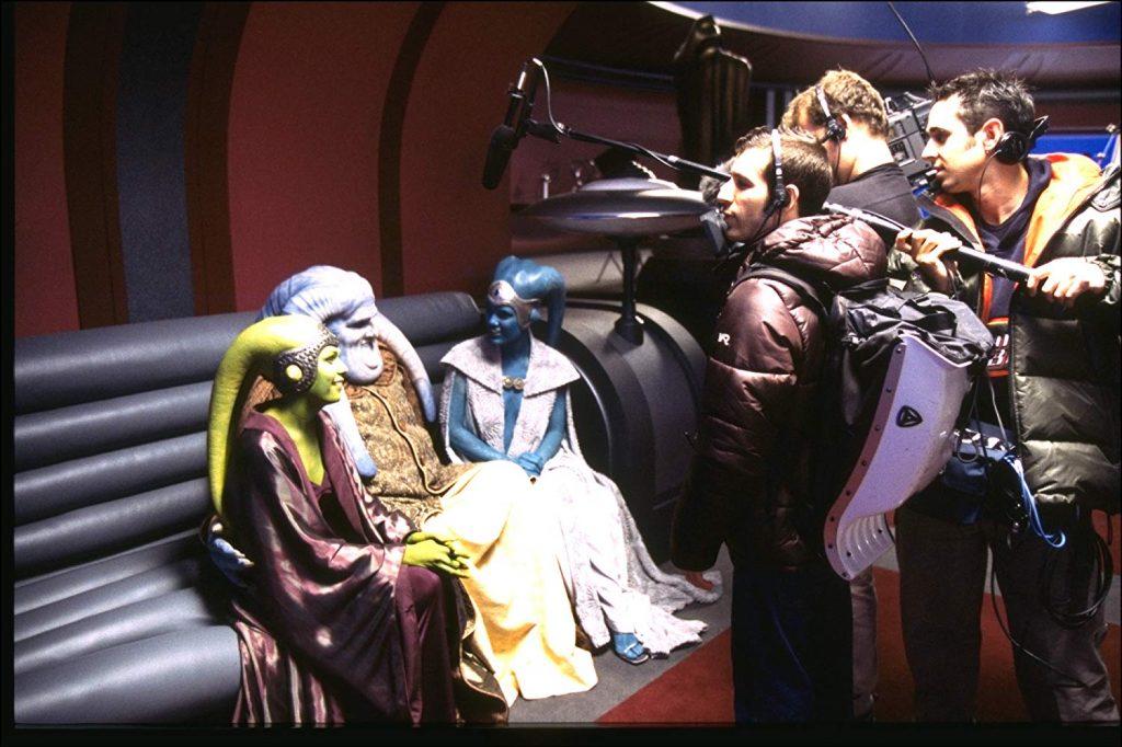 Des membres de l'équipe son et des figurants - © Lucasfilm Ltd. & TM. All Rights Reserved.