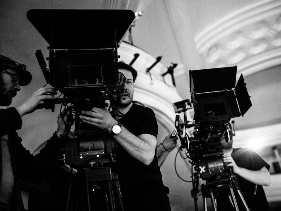 Ernest Wilczynski à la caméra - Crédit photo : ©Łukasz Bąk