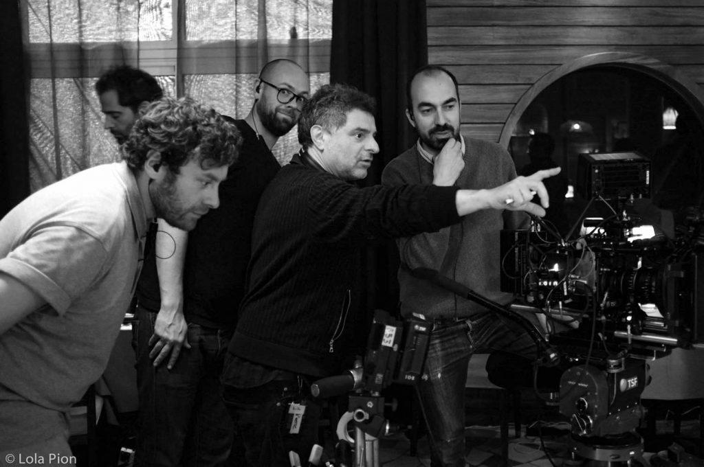 (De gauche à droite :) Romain Riche, Alex Chapelard, Pierre Salvadori, Julien Poupard - Crédit photo : ©Lola Pion