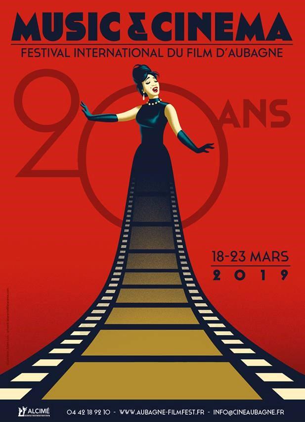 Affiche 20 ans ©Festival International du Film d'Aubagne