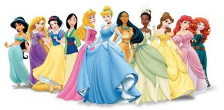 Les princesses Disney officielles — ©Walt Disney Pictures