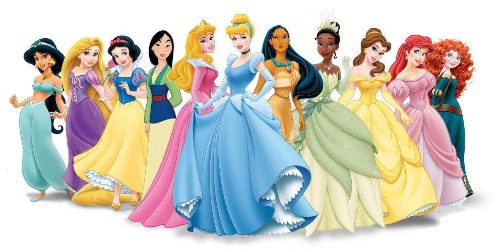 Les princesses Disney officielles — ©Walt Disney Pictures