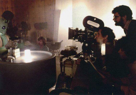 George Lucas, Doug Beswick, et Maria De Aragon - ©DR