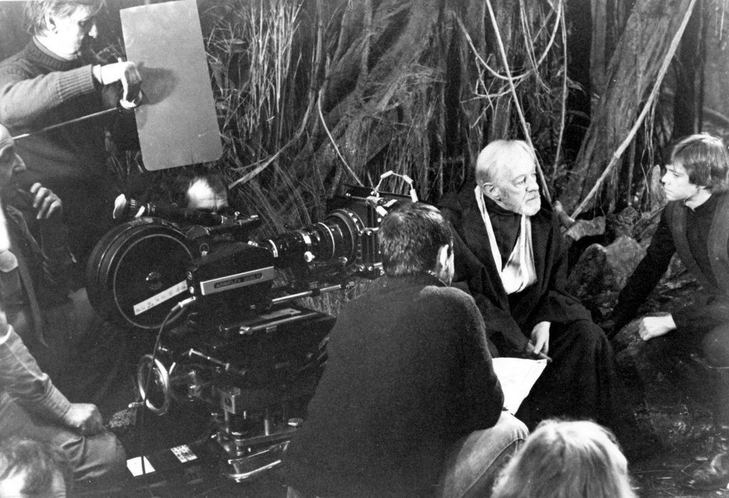 Alec Guinness and Mark Hamill - ©DR